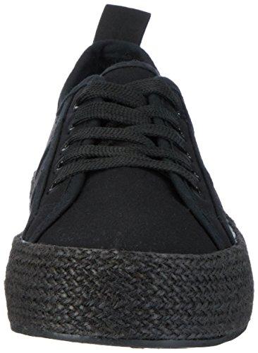 Fiorucci Fepd018 - Zapatillas de casa Mujer Negro (Nero)