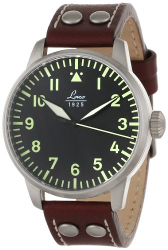 Laco / 1925 Men's 861688 Laco 1925 Pilot Classic Stainless Steel Automatic...