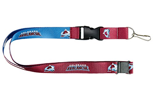 Colorado Avalanche NHL Reversible Lanyard Keychain ID Holder