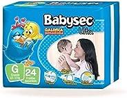 Fralda Babysec Galinha Pintadinha Ultrasec G 24 Unids, Babysec, G