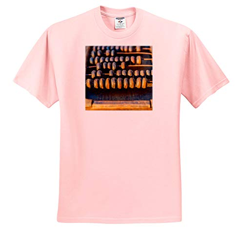 Alexis Photography - Objects Abacus - Image of Sunlit Abacus an Ancient Calculating Tool - T-Shirts - Toddler Light-Pink-T-Shirt (2T) (ts_292858_47)