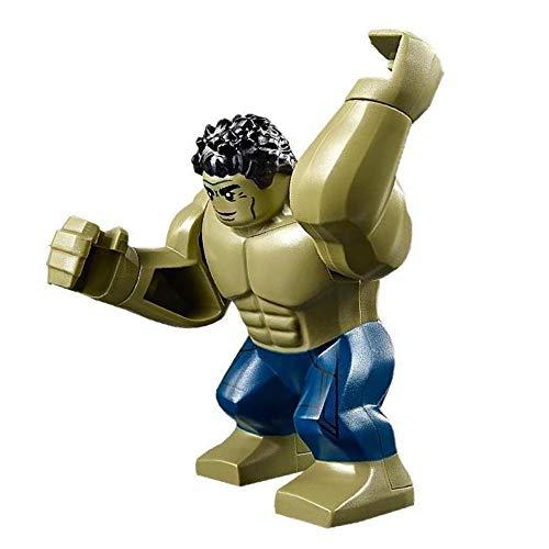 LEGO Hulk Super Heroes Endgame Minifigure - New for 2019 (Lego The Hulk)