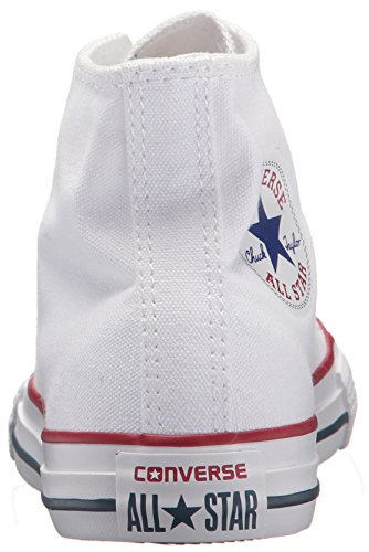Hi Kids Optical Star All White Unisex Chuck Converse Taylor White Trainers ITPqZ