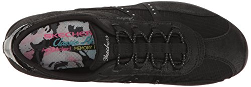 Skechers Sport Donna Womens Unity-pure Bliss Fashion Sneaker Nero
