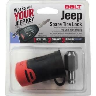 Jeep Spare Tire Lock - 6