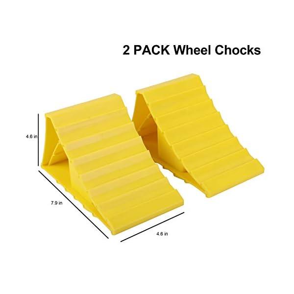 417uzlkYFZL Pr1me 02-013 Unterlegkeil für Reifen, 2 Stück, rutschfest, für die meisten Reifengrößen, einfach aufzustellen