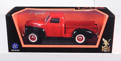 92648 Scale 1:18 1950 GMC Pick Up, Red/Black