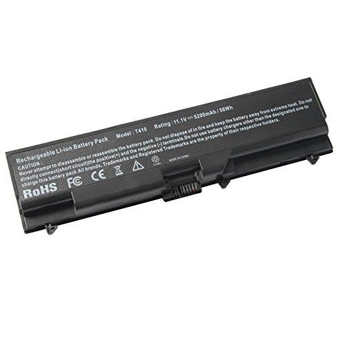 (Battery for Lenovo ThinkPad E40 E50 E420 E425 E520 E525 L410 L412 L420 L421 L510 L512 L520 SL410 2842 SL510 T410 T410i T420 T510 T520 W510 W520 ThinkPad Edge 14