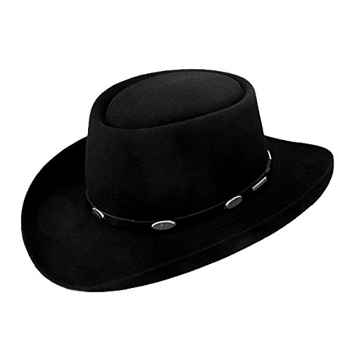 Stetson Royal Flush Gun Club Hat-Black-71_4 Stetson Gun Club