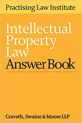 Book Intellectual Property Law Answer Book 2016