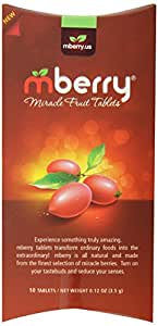 mberry Miracle Fruit Tablets, 10-Count