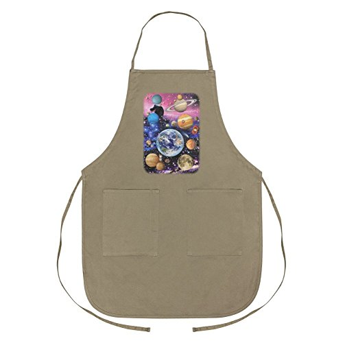 Graphics and More Planets Solar System Earth Nebula Apron with Pockets by Graphics and More