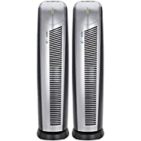 PureGuardian AP28002PK Air Purifiers with HEPAFresh Filter, Captures Allergens, Mold Spores, Dust, Pet Dander, Reduces Odors, Pure Guardian Air Purifier 2-Pack