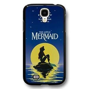 Classic Disney Cartoon Movie The Little Mermaid Ariel Hard Plastic Phone Case Cover for Samsung Galaxy S4 - Black