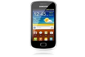 """Samsung Galaxy Mini II - Smartphone libre Android (pantalla táctil de 3,27"""" 320 x 480, procesador de 800 MHz) color negro y plateado [Importado de Francia]"""