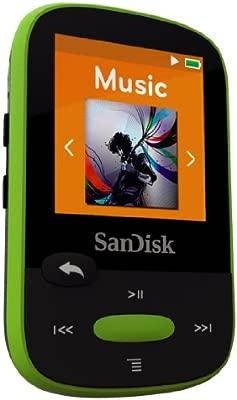 SanDisk Clip Clip Sport - Reproductor MP3 , 8GB, Verde