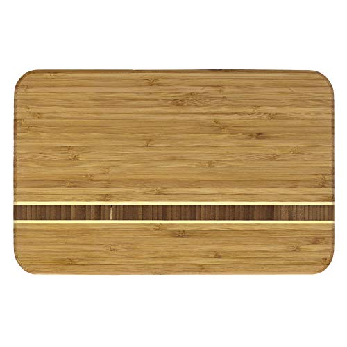 Totally Bamboo Aruba Bamboo Serving and Cutting Board, 12-1/2