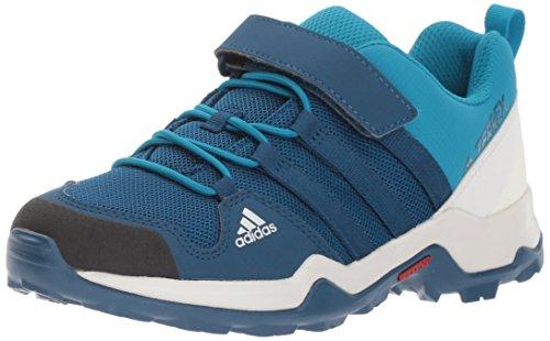 adidas outdoor Unisex-Kids Terrex AX2R CF K Hiking Shoe, Blue Night/Blue Night/Myster Petrol, 5.5 Child US Big Kid