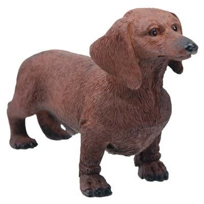 Chocolate Dachshund Dog - Collectible Figurine Statue for sale  Delivered anywhere in USA
