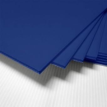 "Amazon.com: BLUE CORRUGATED PLASTIC SHEET 24"" X 36 ..."