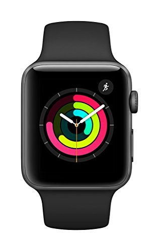اسعار Apple Watch Series 3 (GPS, 42mm) - Space Gray Aluminium Case with Black Sport Band