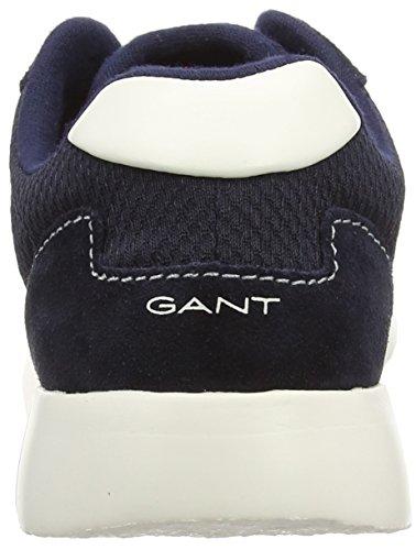 Gant Des Leah Blau Baskets Marine Femmes Bas Bleu g65 Bleu top wdxa4qR