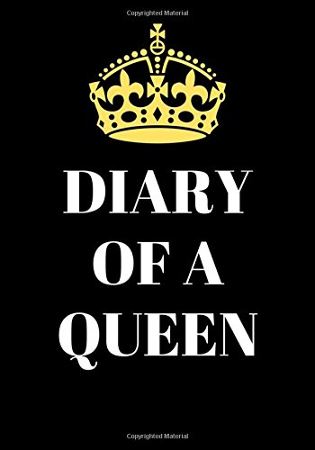 """Download Notebook Bullet Journal Dot-Grid, Blank, Cornell Line, 120 pages 7""""x10"""" : Diary of a Queen: Princess pdf"""