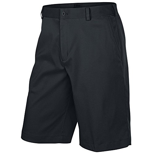 Nike Mens Flat Front Tech Golf Shorts (32, Black) - Nike Golf Shorts Black