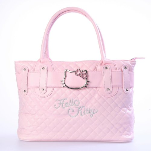 niceEshop(TM) Hello Kitty Shoulder Tote Handbag Satchel Shopper Purse-Pink, Bags Central
