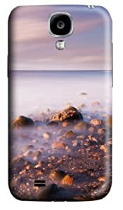 Misty Sea Polycarbonate Hard Case Cover for Samsung Galaxy S4/Samsung Galaxy I9500 3D