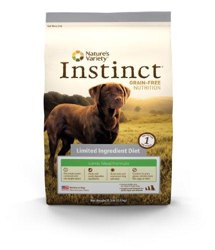 Инстинкт Зерно-Free Lamb Meal Formula Limited Ингредиент Диета Сухой корм для собак разнообразием природы, 25,3-килограммовый мешок