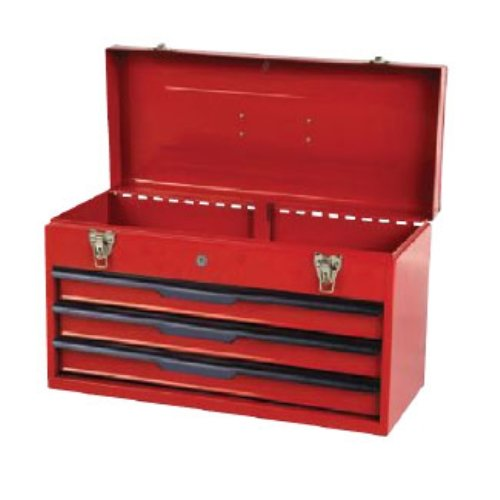 3 draw metal tool box - 7