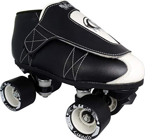 (VNLA Vanilla Jr. Tuxedo Quad Speed Roller Jam Skates (Mens 10 / Ladies 11) )