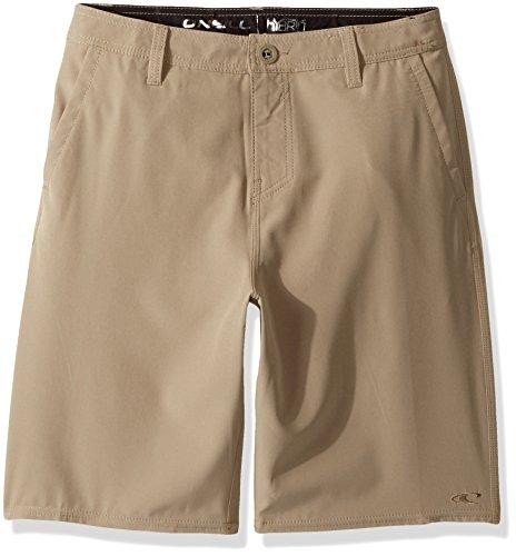 O'Neill Boys' Big Loaded Hybrid Short, Solid Khaki, ()