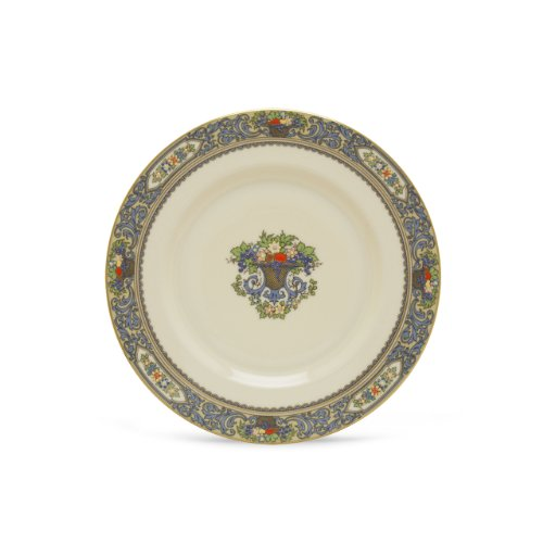 Lenox Autumn Banded Ivory China Butter (Fruit Bread Plate)