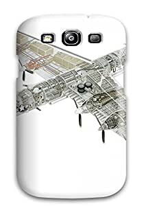 High-end Case Cover Protector For Galaxy S3(bomber)