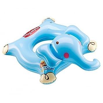 lively moments Fisher-Price Elefante Flotador / flotador / Anillo flotante desde el primeras Meses de vida: Amazon.es: Juguetes y juegos