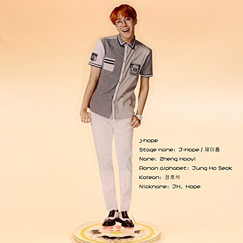 Bosunshine BTS Bangtan Boys Transparent Acrylic Shape Card Miniature Standing Paper (07)