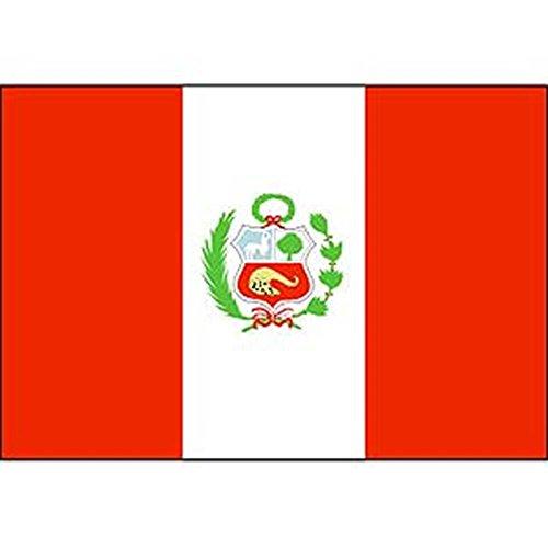 EagleEmblems F1086 - Bandera de Perú (3 pies x 5 pies)