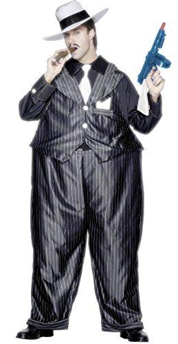 Traje de gángster Gato gordo: Amazon.es: Juguetes y juegos