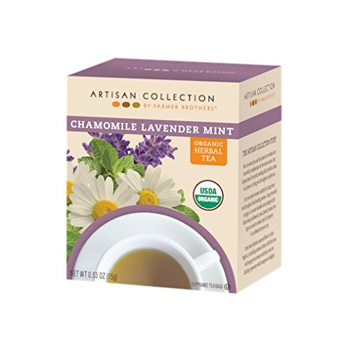 Artisan Chamomile Lavendar Mint Organic Herbal Tea, 1/15 ct ()