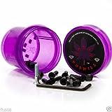 Diamond 7/8'' Inch Torey Pudwill Hella Tight Allen Head Skateboard Hardware (Purple)