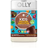 OLLY Kids Protein Powder; plant-based protein; Chipper Chocolate; 16.7oz (15 servings)