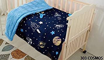 Amazon Com Mb Collection Multicolor Navy Blue Rocket Spaceship Kids