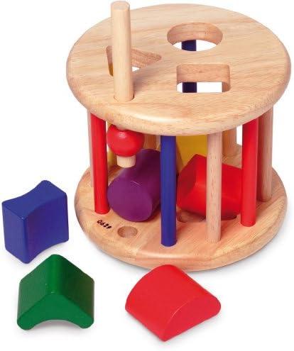 all Kids United Baby Lernspielzeug Sortierspiel aus Holz