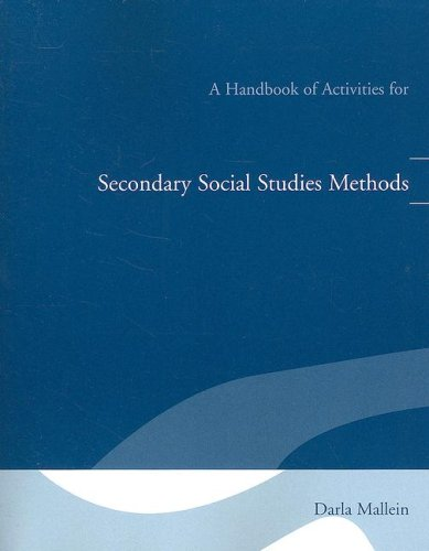A Handbook of Activities for Secondary Social Studies