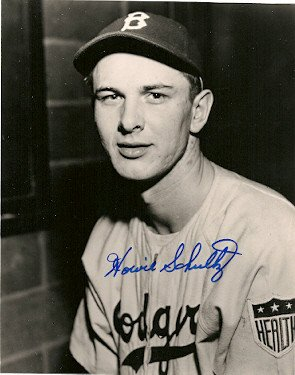 Signed Howie Schultz Brooklyn ...