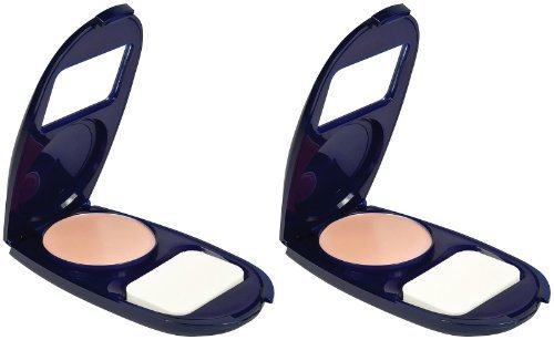 CoverGirl Smoothers Aquasmooth Compact Foundation, Natural Ivory 715, 0.4-Ounce by CoverGirl
