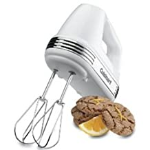 Cuisinart HM-50C Power Advantage 5 Speed Hand Mixer, White