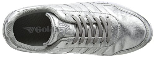 Gola Womens Relay Metallic Silver / White